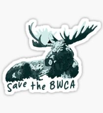 Save The BWCA! Sticker