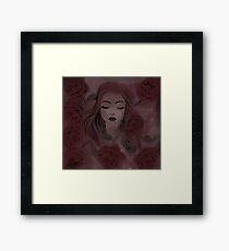 Princess of Rose Framed Print