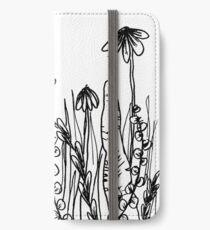 Ink Garden iPhone Wallet