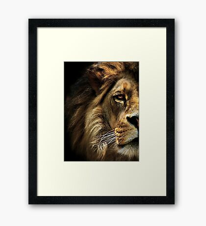 Majestic Dominance Framed Print