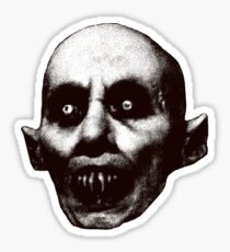 Nosferatu the Vampire t shirt Sticker