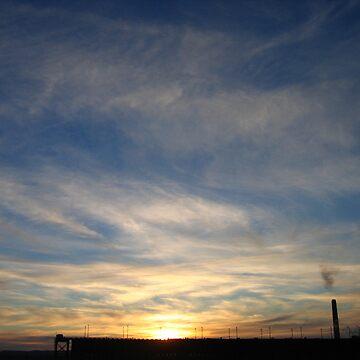 Whispy UP Sunset by noback