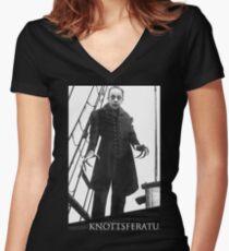 Knottsferatu Women's Fitted V-Neck T-Shirt