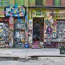 graffiti on wooster street, nyc by jackson photografix