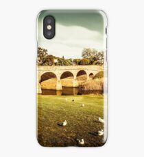 Old colonial style bridge iPhone Case/Skin