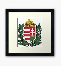 Hungary Coat Of Arms  Framed Print