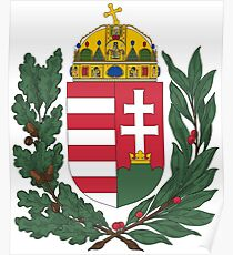 Hungary Coat Of Arms  Poster