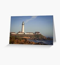 Pigeon Point Lighthouse, Highway 1 - California Greeting Card