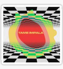 Tame Impala Splat Currents Design Sticker