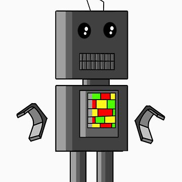 funky robot by nickconlon