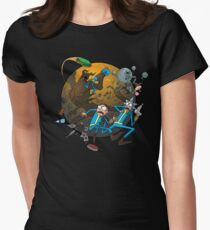 Rick and Morty Fallout 4 Womens Fitted T-Shirt