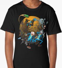 Rick and Morty Fallout 4 Long T-Shirt