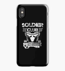 Bullet Soldier Club 76 iPhone Case/Skin