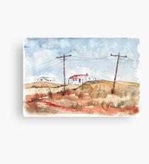 The Arid Karoo, South Africa Canvas Print