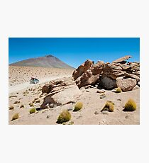 To Infinity and Beyond - Bolivian Altiplano Photographic Print