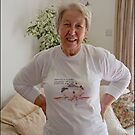 Beautiful lady! Beautiful T-shirt!  by Maree Clarkson