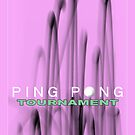 Ping Pong Tournament Poster by Glenn Launerts