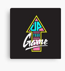 Up your game - Flat version Canvas Print