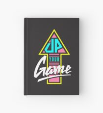 Up your game - Flat version Hardcover Journal