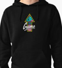 Up your game - Flat version Pullover Hoodie