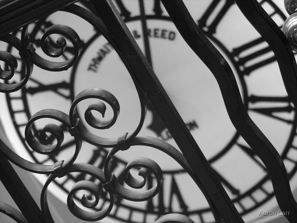 Caged Clock by Aaron Carr