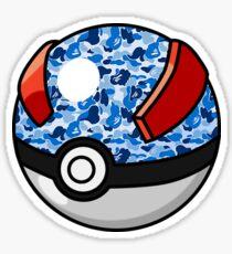 Great Bape Ball Sticker