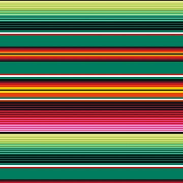 Mexican Stripes by ymgraphix