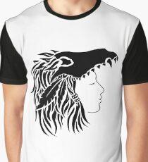 Nymeria (black & white) Graphic T-Shirt