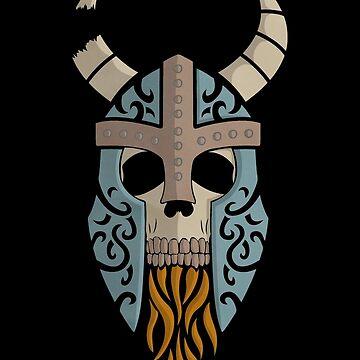 Old Bones- Draugr (colour) by RedTideCreative