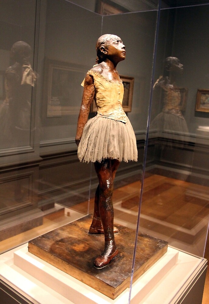 Degas's Little Dancer Aged Fourteen by Cora Wandel