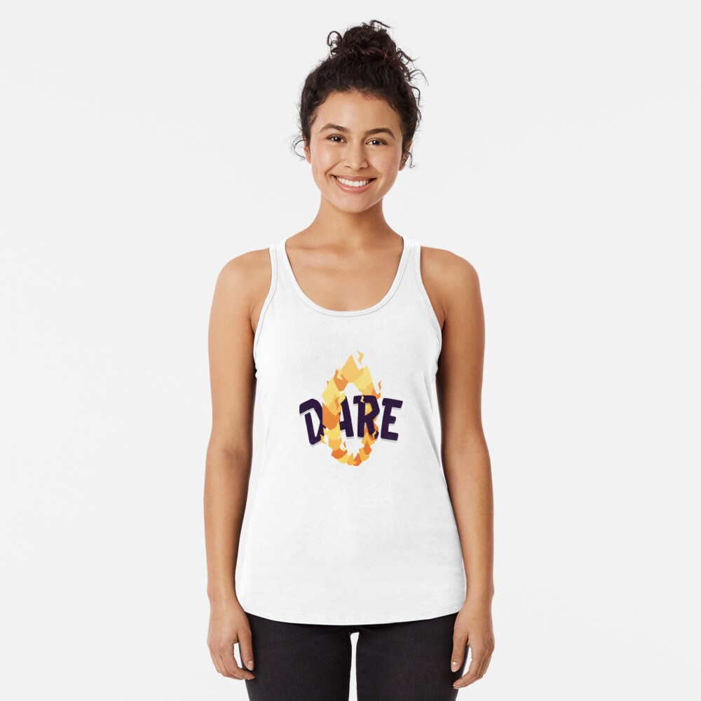 Dare Racerback Tank Top