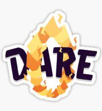 Dare Sticker