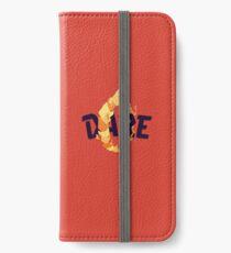 Dare iPhone Wallet/Case/Skin