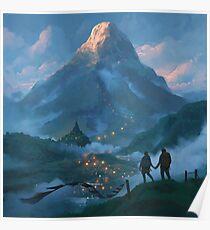 Adams Peak Poster