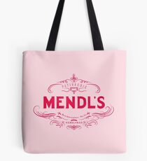 Mendl's Patisserie (accurate) - Pink Tote Bag