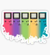 Gameboy Splatter Sticker