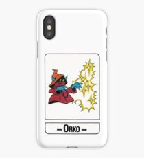 He-Man - Orko - Trading Card Design iPhone Case/Skin