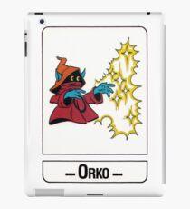 He-Man - Orko - Trading Card Design iPad Case/Skin