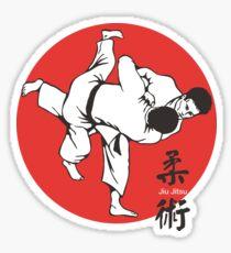Jiu Jitsu Fighting Sticker