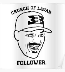 Church Of Lavar Follower Poster