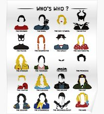 Who's who ? Poster