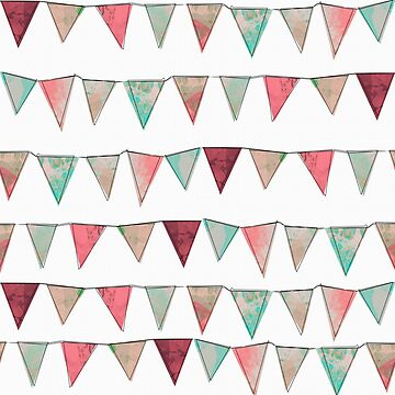 Summer Bunting by lollylocket