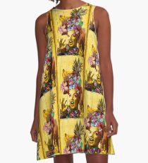 Tropical Miranda A-Line Dress