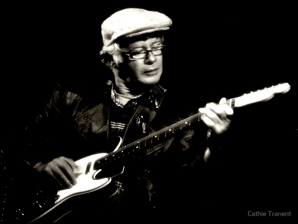 The Bluesman II by Cathie Tranent
