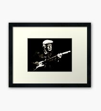 The Bluesman II Framed Print