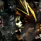 Silent Hill collage by Aliesha Hamrick
