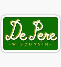 De Pere, Wisconsin Sticker