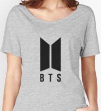 BTS NEW LOGO Women's Relaxed Fit T-Shirt