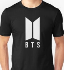 BTS new logo white Unisex T-Shirt
