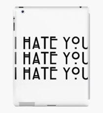 """I hate you!"" Dandy Mott Quote iPad Case/Skin"